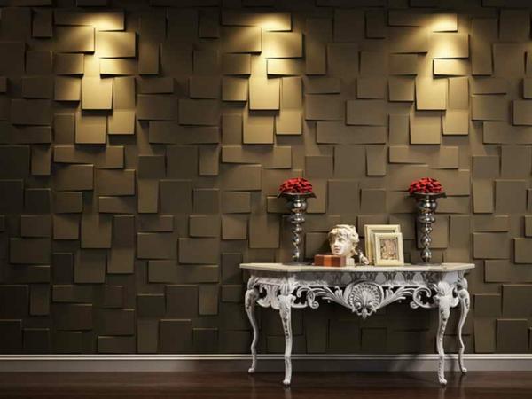 Des panneaux d coratifs muraux for Panneau decoratif mural bois