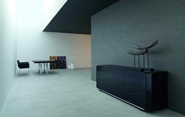 vaisselier-moderne-noir-dans-un-intérieur-minimaliste