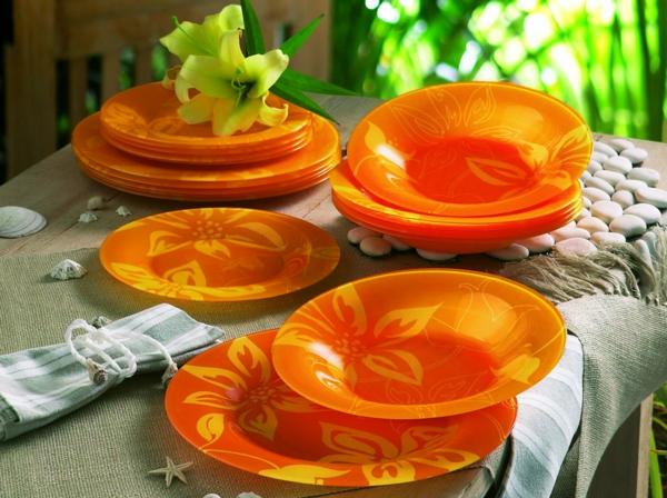 vaisselle-luminarc-à-motifs-floraux