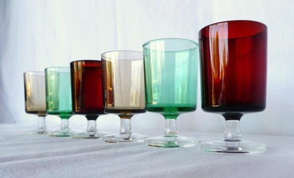 vaisselle-luminarc-des-verres-colorées