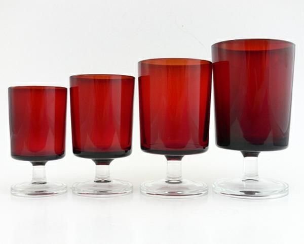 vaisselle-luminarc-des-verres-rouges
