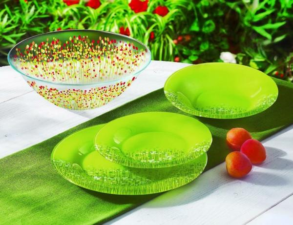 vaisselle-luminarc-en-vert