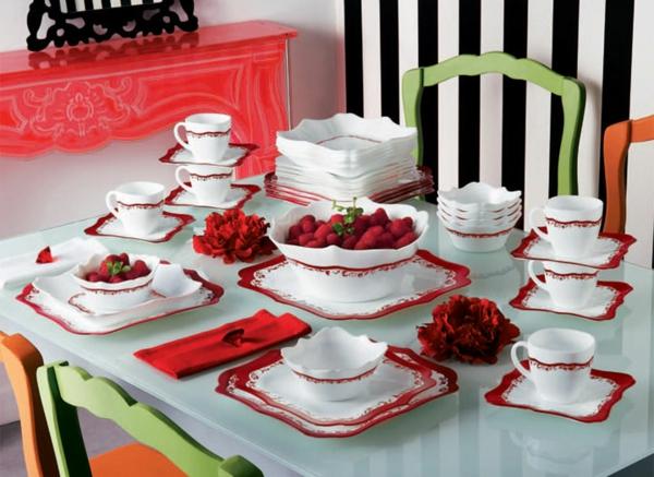 La vaisselle luminarc visions classiques et couleurs - Vaisselle contemporaine moderne ...