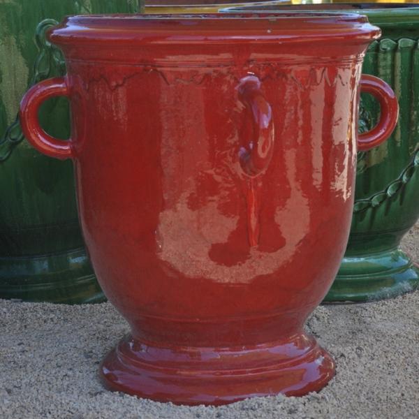 vase-d' anduze-rouge