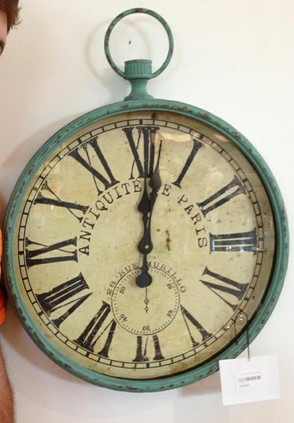 vintage-horloge-design- murale