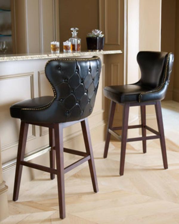élégant-chaise-en-cuir