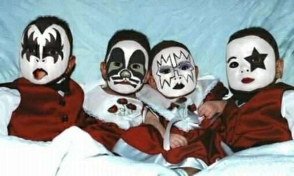 Halloween-maquillage-idées-originales-photos-bébés-noir-blanc-=