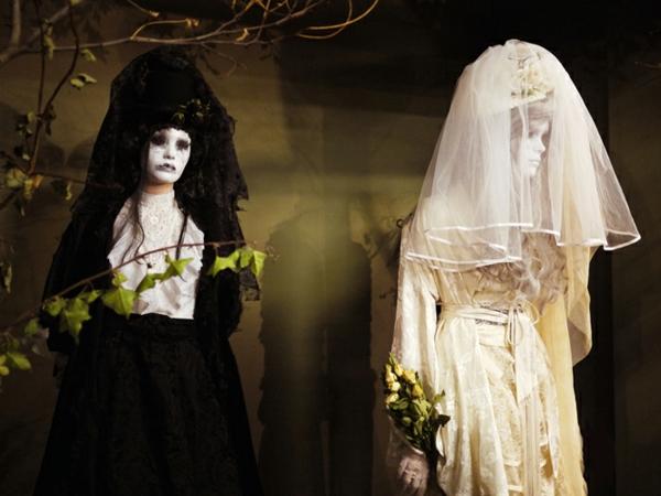 Halloween-marié