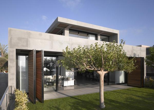 L 39 architecture minimaliste d 39 ext rieur en cube for Construire maison minimaliste