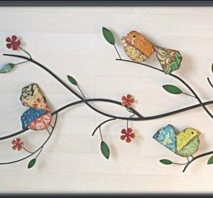 Idées de décoration murale en fer