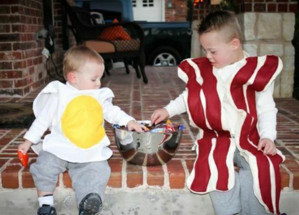 amusant-costume-pour-deux-enfant-halloween