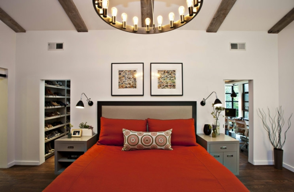 applique-liseuse-et-chambre-à-coucher-magnifique