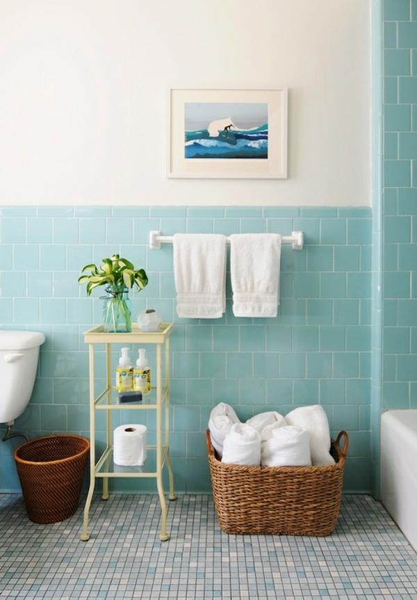 D co salle de bain style marin - Deco mer salle de bain ...