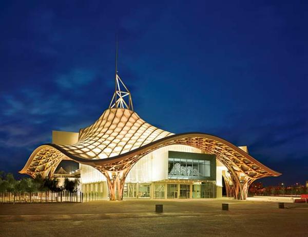 L 39 architecture futuriste et les parcs des expositions for Architecture futuriste