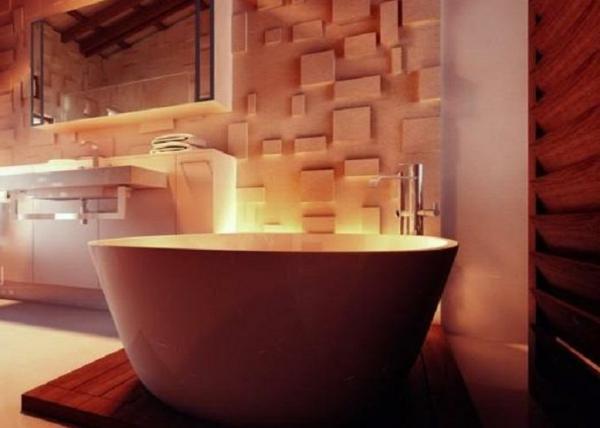 baignoire-sabot-ambiance-chaleureuse