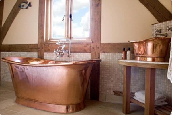 baignoire-sabot-bronzée
