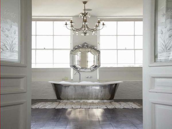 baignoire-sabot-couleur-argentée