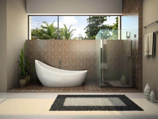 La baignoire sabot est un bijou pour votre salle de bains th me baroque Tapis de massage pour baignoire