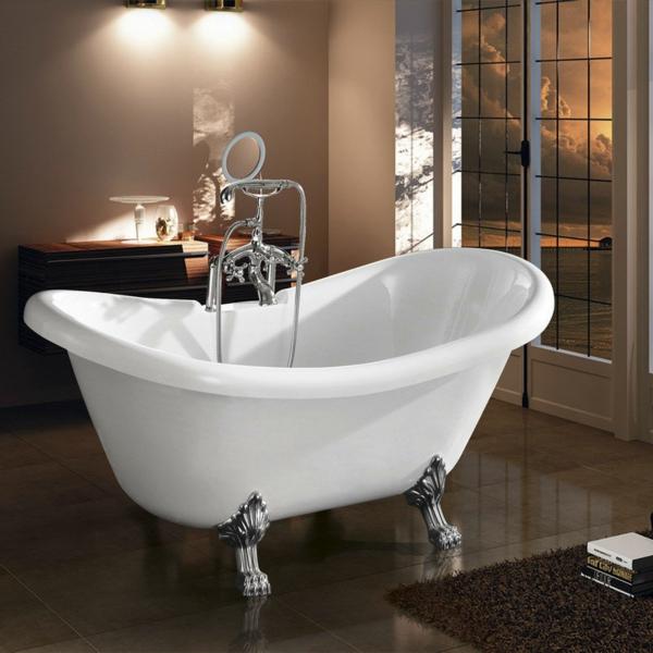 La baignoire sabot est un bijou pour votre salle de bains for Peinture pour baignoire fonte