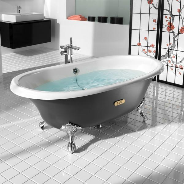 la baignoire sabot est un bijou pour votre salle de bains th me baroque. Black Bedroom Furniture Sets. Home Design Ideas