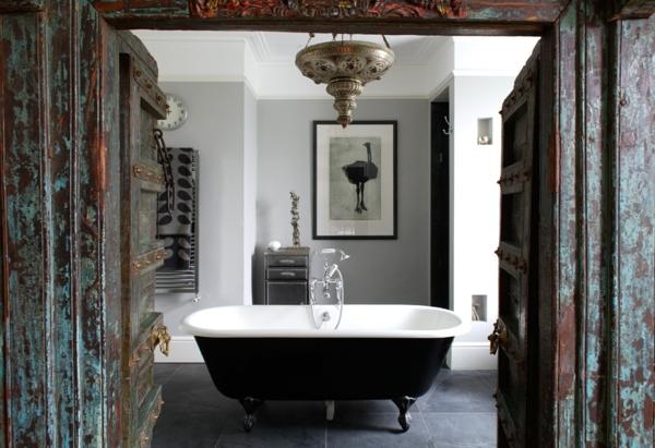 baignoire-sabot-salle-de-bains-vintage