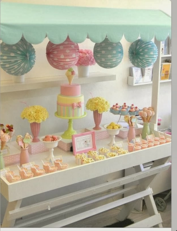 Idee deco de table pour bapteme fille - Decoration bapteme fille ...