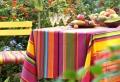 La nappe enduite – design coloré