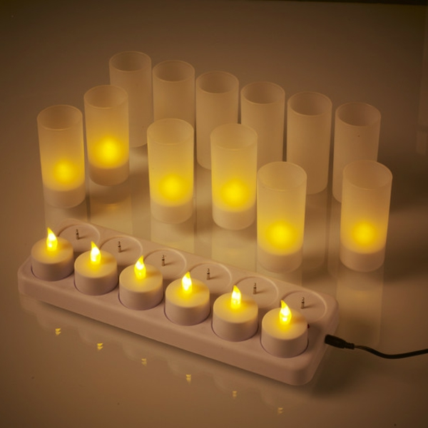 bougie-led-rechargeable-bougies-à-bateries