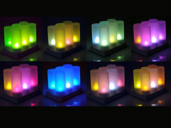 bougie-led-rechargeable-bougies-à-lumières-led
