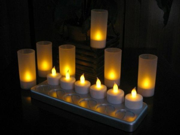 bougie-led-rechargeable-bougies-décoratives
