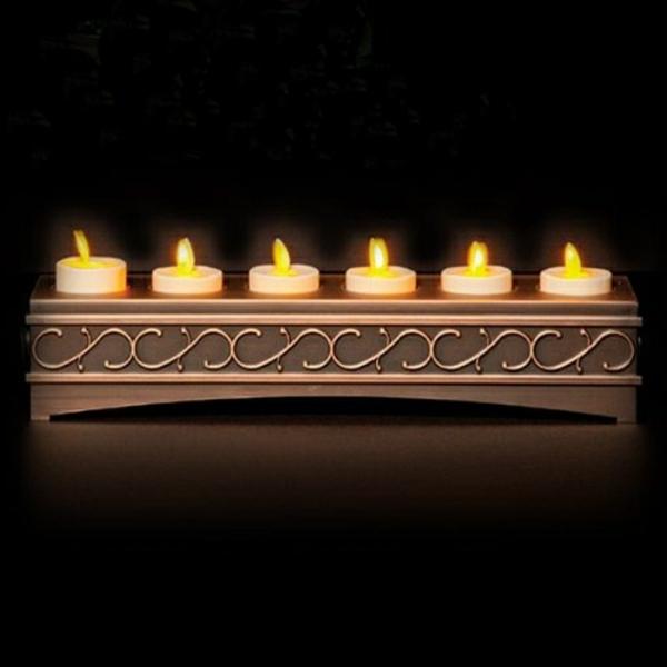 bougie-led-rechargeable-dans-un-joli-candélabre