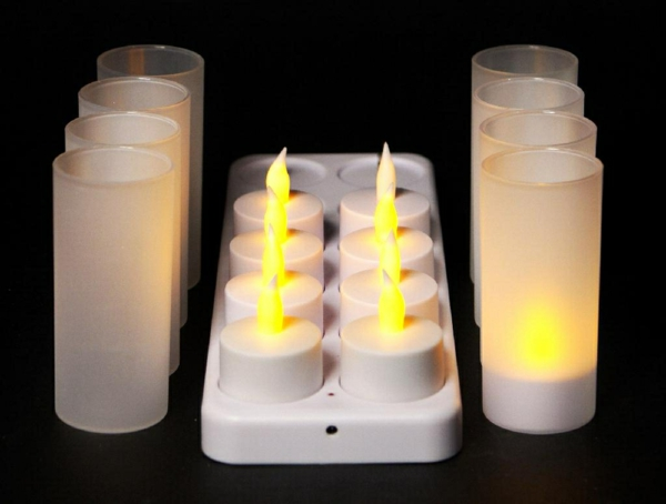 bougie-led-rechargeable-dix-bougies