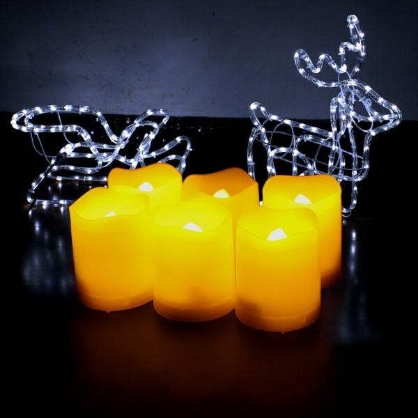 bougie-led-rechargeable-magnifique-décoration-pour-la-fête-de-Noel