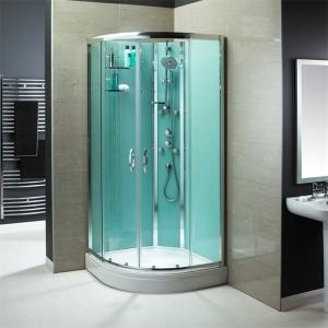 Une cabine de douche intégrale pour un meilleur confort dans la salle de bains