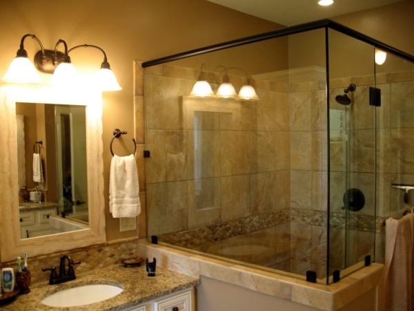 Une cabine de douche int grale pour un meilleur confort dans la salle de bain - Grande cabine de douche ...