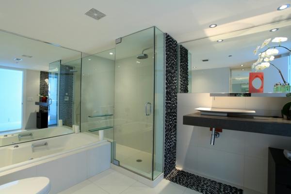 cabine-de-douche-intégrale-et-une-grande-baignoire