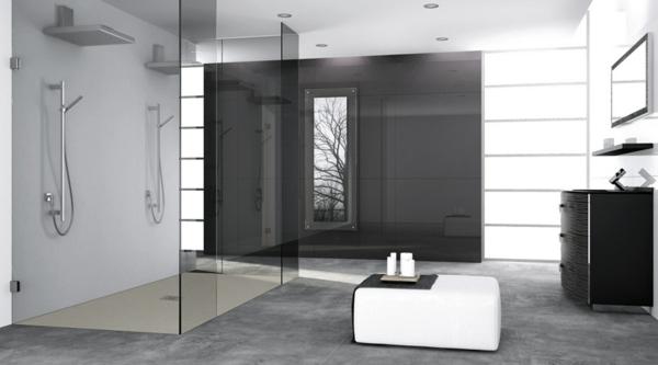 Cabine De Douche Moderne Exemples : Salle de bain design contemporain renovation deco