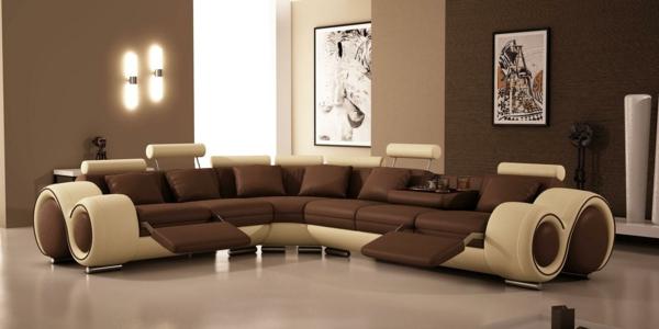 choisissez un canapé bicolore moderne. - archzine.fr