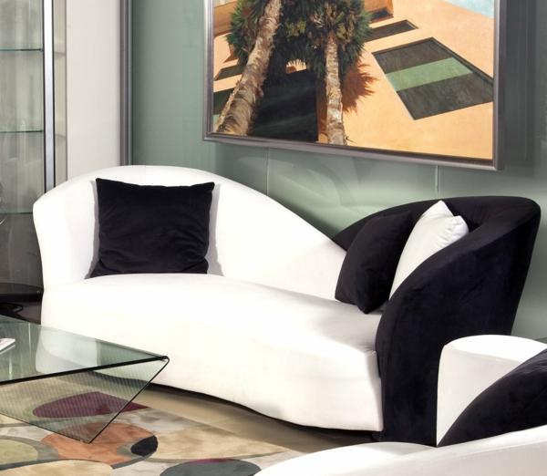canapé-bicolore-en-noir-et-blanc