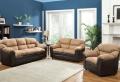 Choisissez un canapé bicolore moderne.