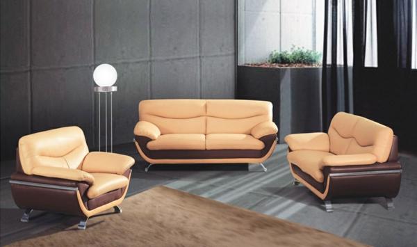 canapé-bicolore-faux-cuir