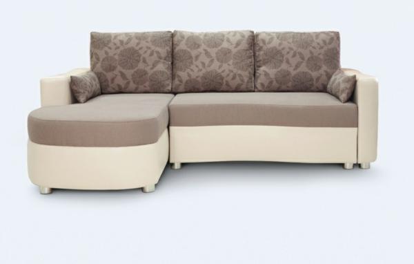 Le canapé d\'angle convertible en beige - Archzine.fr