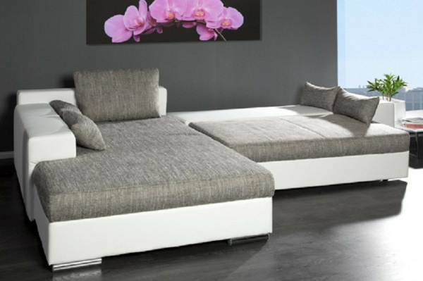 37 mod les du canap convertible en gris. Black Bedroom Furniture Sets. Home Design Ideas