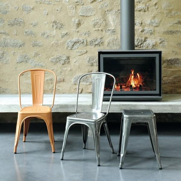 chaise-jolie-en-gris-et-orange
