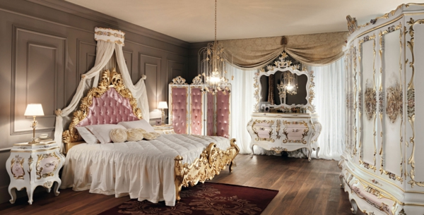 with chambre style baroque. Black Bedroom Furniture Sets. Home Design Ideas