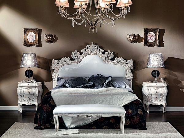 chevet-baroque-deux-chevets-baroque-dans-une-chambre-à-coucher-magnifique