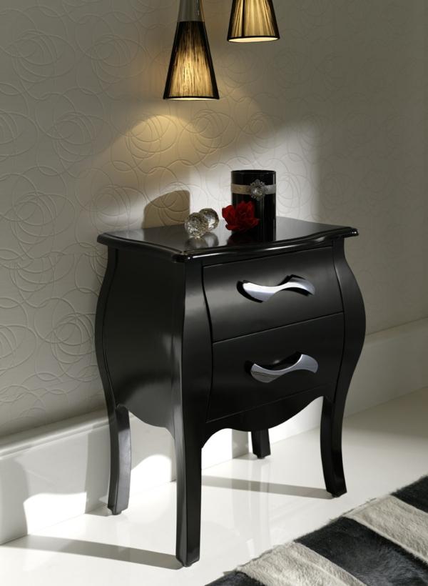 Le chevet baroque rennaissance d 39 un meuble classique for Table de chevet baroque noir