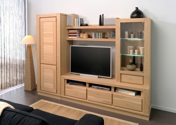 Table Tv En Bois Meuble Tv Noyer Maisonjoffrois