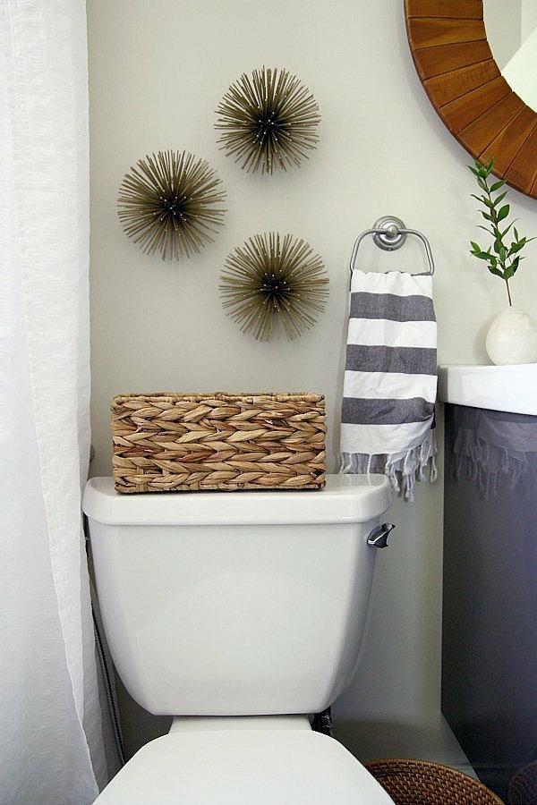 id es de d co de salle de bain en style marin. Black Bedroom Furniture Sets. Home Design Ideas