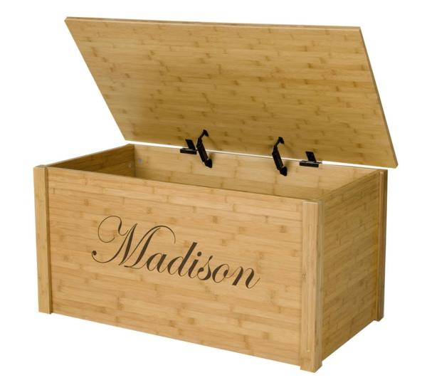 Un coffre jouets original id es int ressantes - Comment fabriquer un coffre a jouet en bois ...